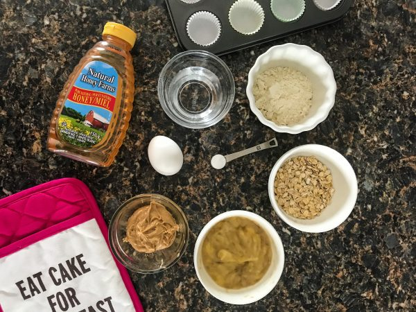Wheat Free Peanut Butter Banana Muffin Ingredients