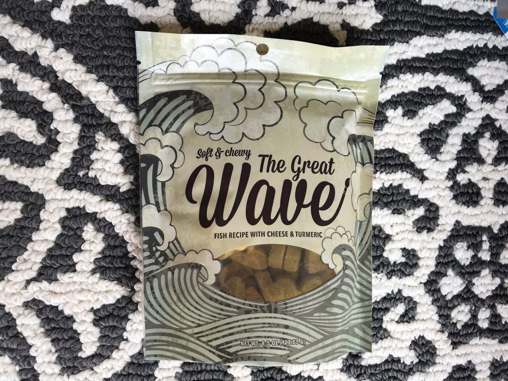 Barkbox Review - March BarkBox 2018 The Great Wave Treats