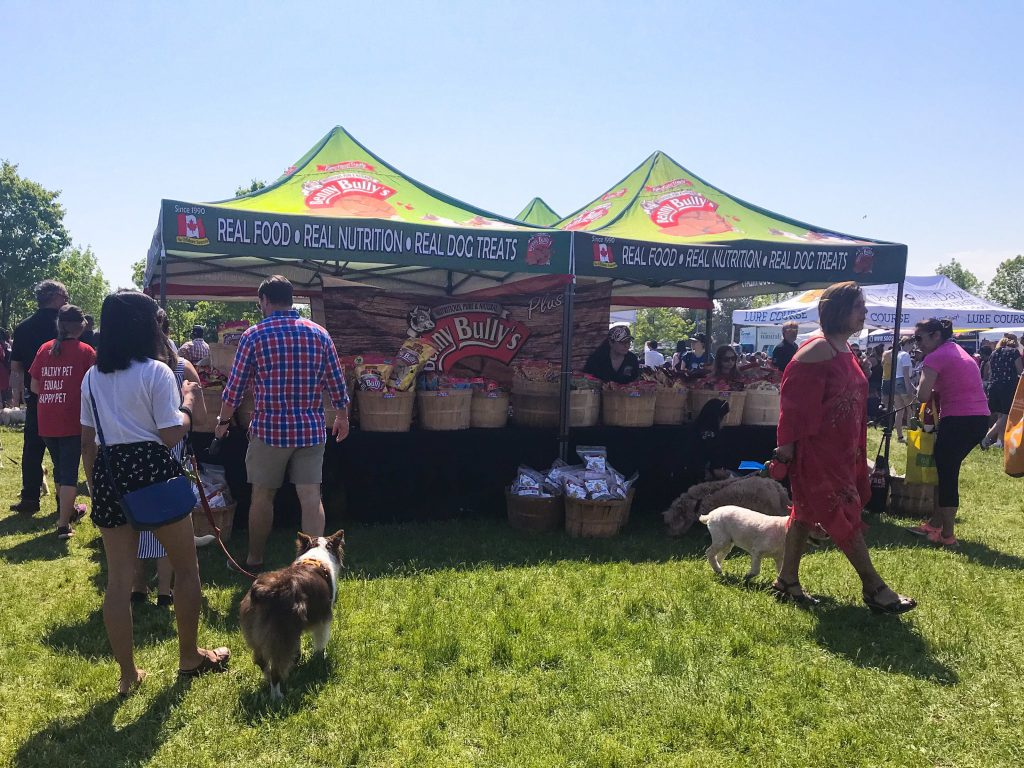 Our Trip to Woofstock - North America?s Largest Festival for Dogs Benny Bully's Booth