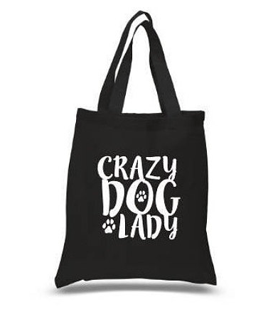 Mother's Day Gift Guide for Dog Mom - Crazy Dog Lady Tote Bag