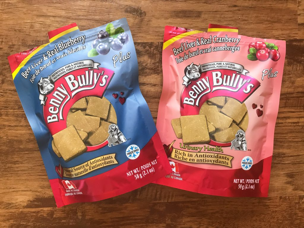 Our Trip to Woofstock - North America?s Largest Festival for Dogs Benny Bully's Beef Liver Plus Blueberry and Beef Liver Plus Cranberry